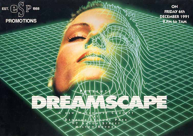 Uk rave flyers price guide dreamscape 1 for House music 1990 songs