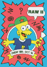 Raw II, 18 Oct 1991